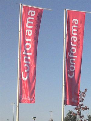 fabrication drapeaux pavillons sur mesure bordeaux gironde