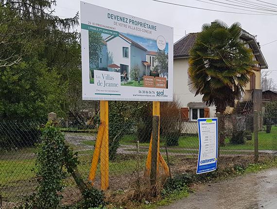Panneau-Chantier--programme-Immobilier-Villenave-d'Ornon-33