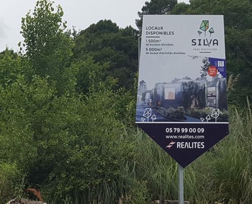 Fourniture et Pose de panneau promotion immobilier - Bordeaux 33