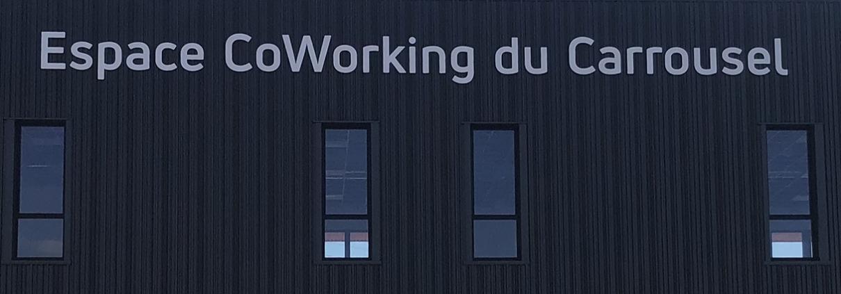 Pose enseigne - lettres découppées sur façade secteur Bordeaux Sud en Gironde 33